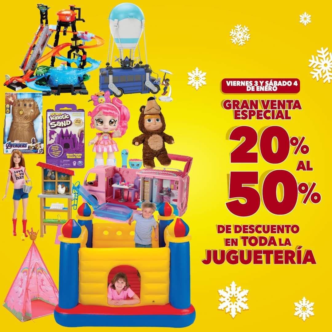 Del Sol y Woolworth: Descuentos del 20% al 50% en toda la juguetería