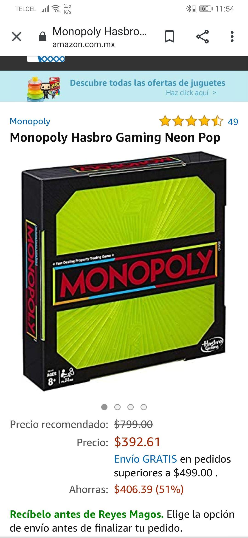 Amazon monopoly neon