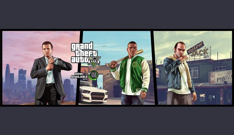 Microsoft Store: Nuevo Juego de Game Pass GTA 5