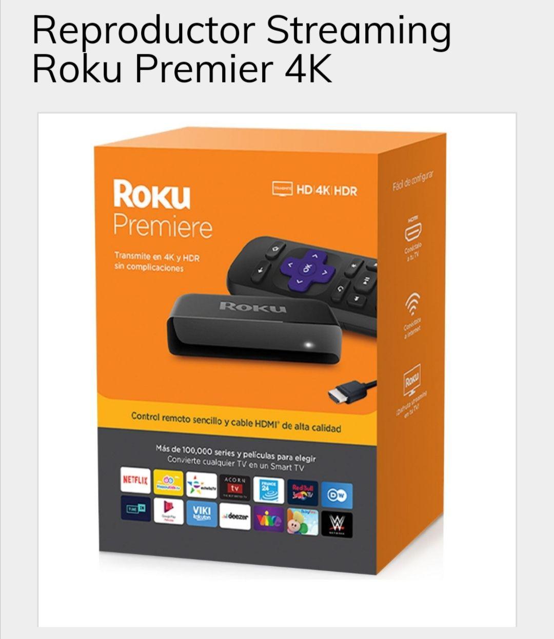 Sanborns Roku Premier 4K