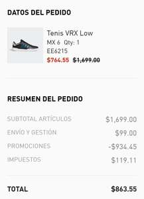 adidas Tenis Adidas VRX Low