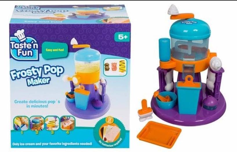 Soriana hiper: máquina paletas de hielo