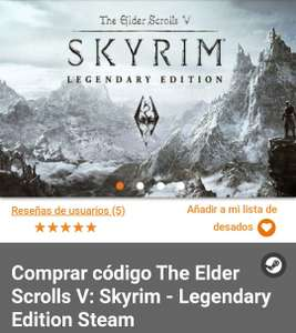 Gamivo: Skyrim Legendary Edition - PC Steam