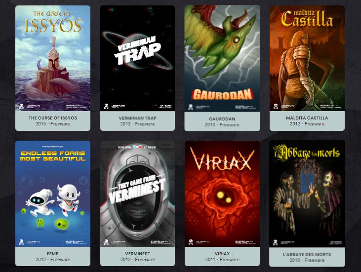 Varios juegos para PC gratuitos de estilo clasico.