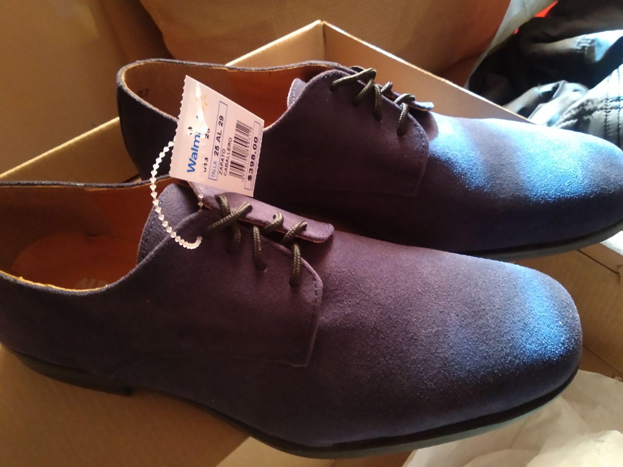 Walmart: Zapato para caballero