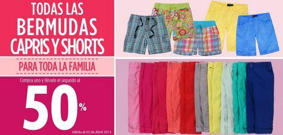 Suburbia: 2x1 y medio en capris y shorts
