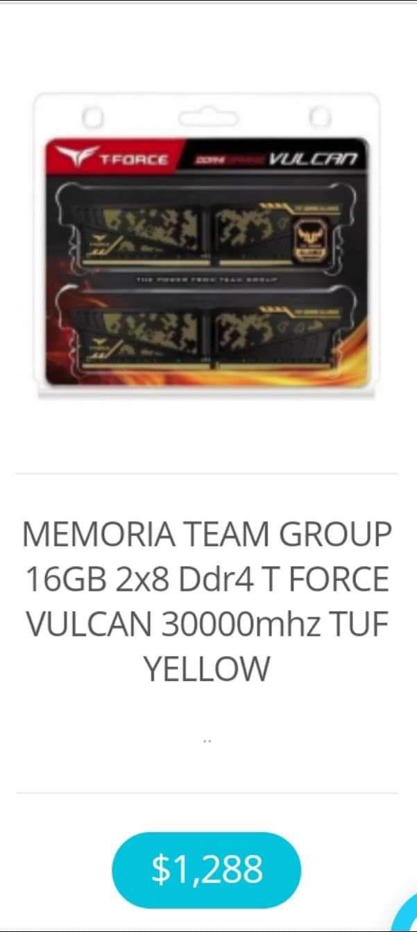 Dimercom: Memoria Ram 16 GB 2x8 3000 mhz