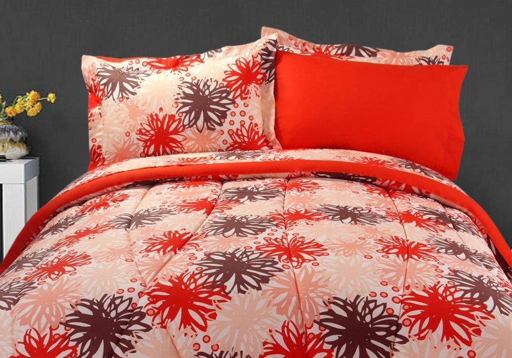 Amazon: Juego de sábanas, edredón y fundas decorativas Classic de Dalfiori Dalia Bed KING a $721