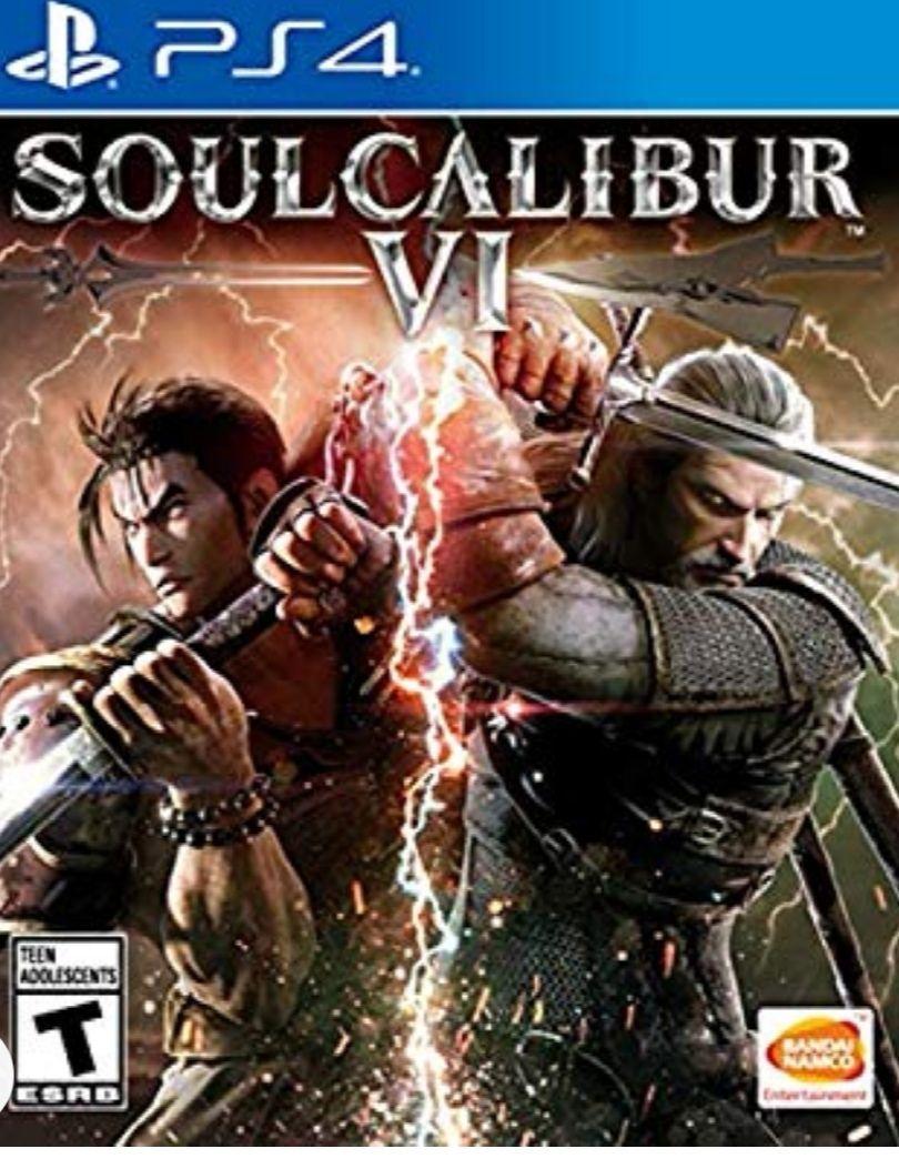 Amazon: Soul calibur vi para ps4