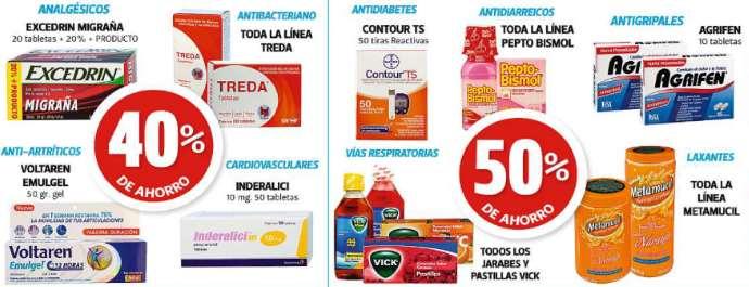 Farmacias Guadalajara: 50% de descuento en Vick, Agrifen y más
