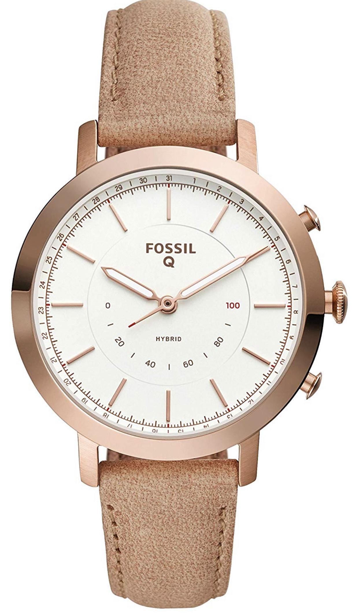 Amazon: Fossil Smartwatch Híbrido Análogo para Mujer