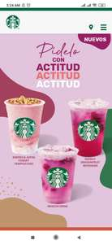 Starbucks: Nuevas Bebidas de Temporada