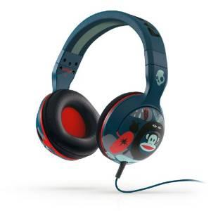 Amazon: Skullcandy Hesh 2.0 - Auriculares de diadema cerrados (con micrófono), azul y rojo