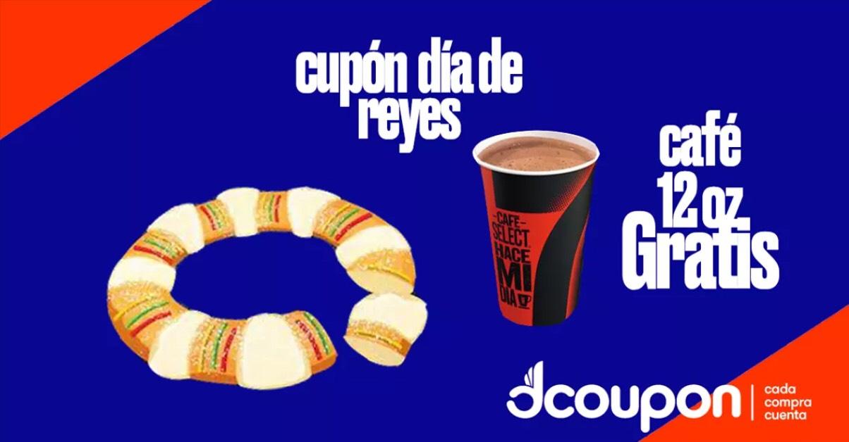 7 Eleven: Café 12oz GRATIS + $5 de Descuento (Dcoupon)