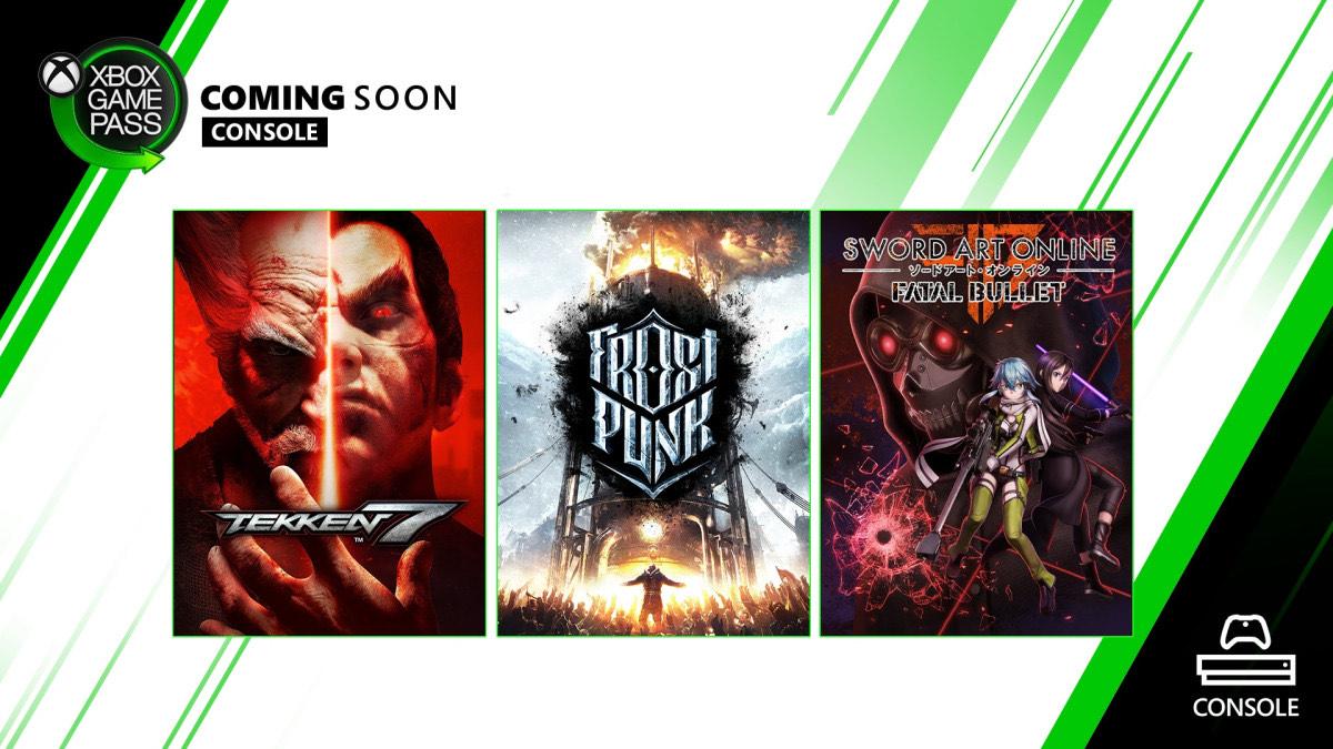 Microsoft: Nuevos juegos Game Pass