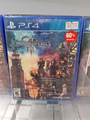 Sanborns Kingdom Hearts 4 PS4
