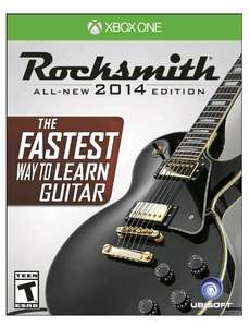 Amazon Mx: Rocksmith  2014 con cable para PC, PS3, PS4, Xbox 360 y Xbox One a $537.23