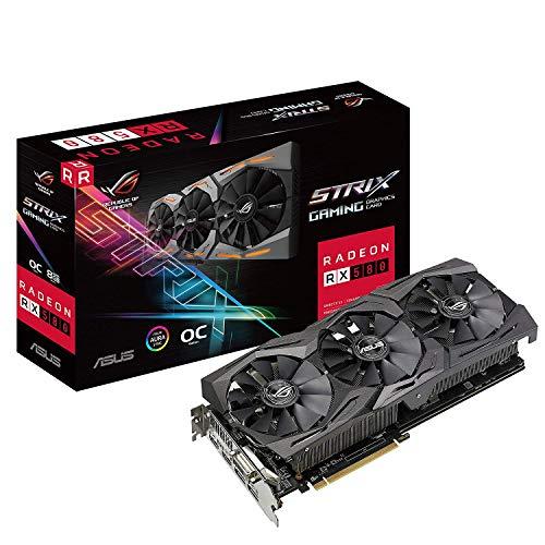 amazon ASUS ROG-STRIX-RX580-O8G-GAMING Radeon RX580 + 3 meses de gamepass