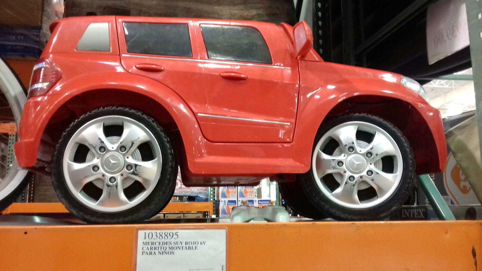 Costco: Montable Electrico c/remoto Mercedes-Benz  a $2,999
