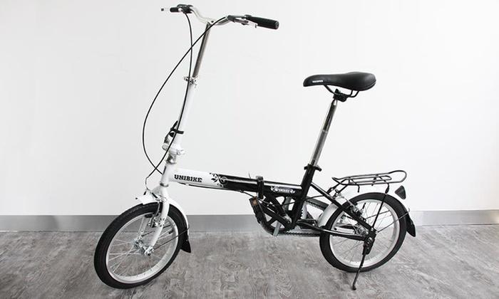 Groupon: bicicleta plegable Unibike a $2699 incluye envío
