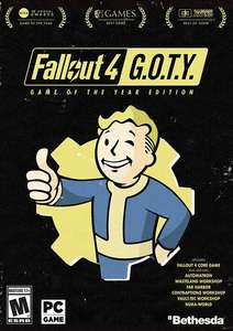 Cdkeys: Fallout 4: Game of the Year Edition PC Steam