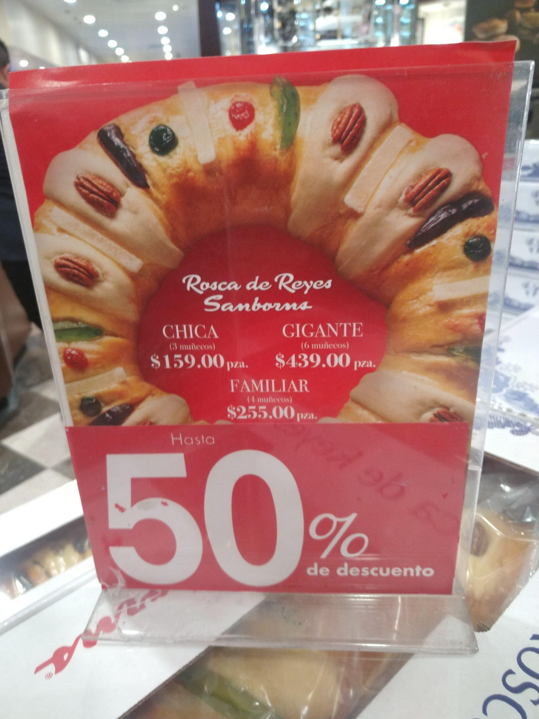 Rosca de Reyes Sanborns