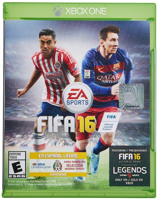 Amazon MX: FIFA 16 y otros títulos de EA con descuento para Xbox One, Xbox 360, Playstation 4 y 3