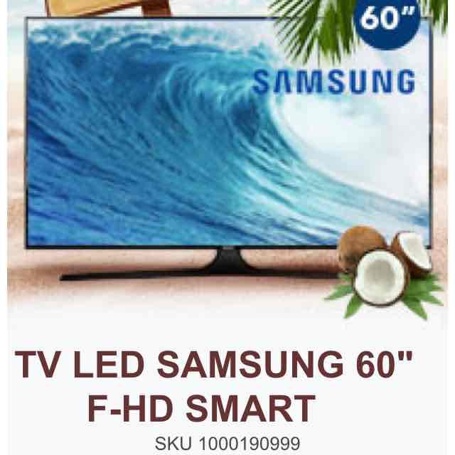 "Best Buy en línea: Smart LED Samsung 60"" a $15,299"