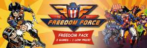 Steam [PC]: Freedom Force: Freedom Pack (Freedom Force + Freedom Force vs. the Third Reich ) - BAJO HISTÓRICO
