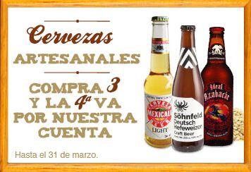 Superama: 3x2 en botellas de ron y 4x3 en cervezas artesanales
