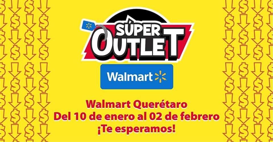 Mañana empiezan con los súper outlets de Walmart solo algunas tiendas se las dejo en la descripción