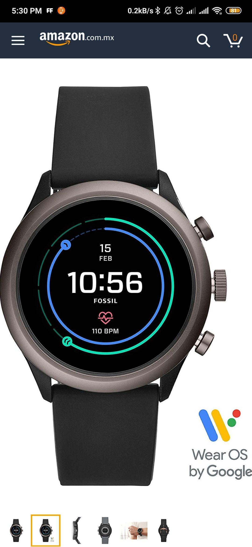 Amazon: Fossil Smartwatch Gen 4 Hombre
