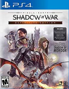 Amazon: Middle Earth Shadow of War PS4 Definitive Edition