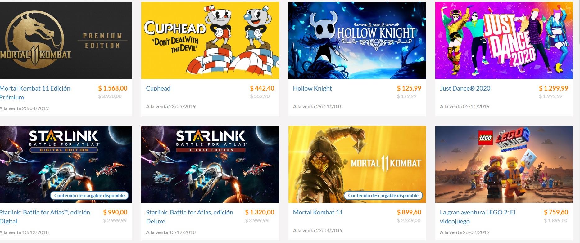 Nintendo Eshop Argentina: Mortal Kombat 11 $283.61 y Edicion Premium $494.33 y mas