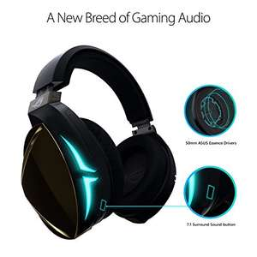 Amazon: Audífonos Asus ROG Strix Fusion 500 RGB Virtual 7.1