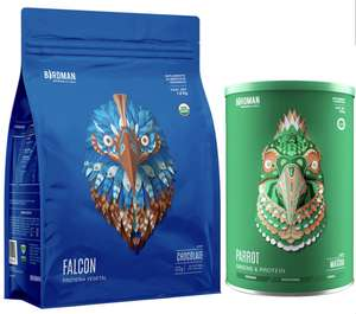 COSTCO: Proteína Falcon BIRDMAN vegetal vainilla o chocolate