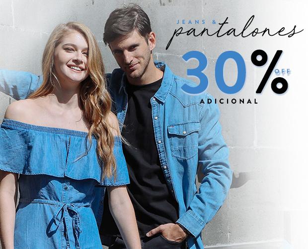 Osom y Promoda: Hasta 60% de descuento + 30% adicional en pantalones y jeans