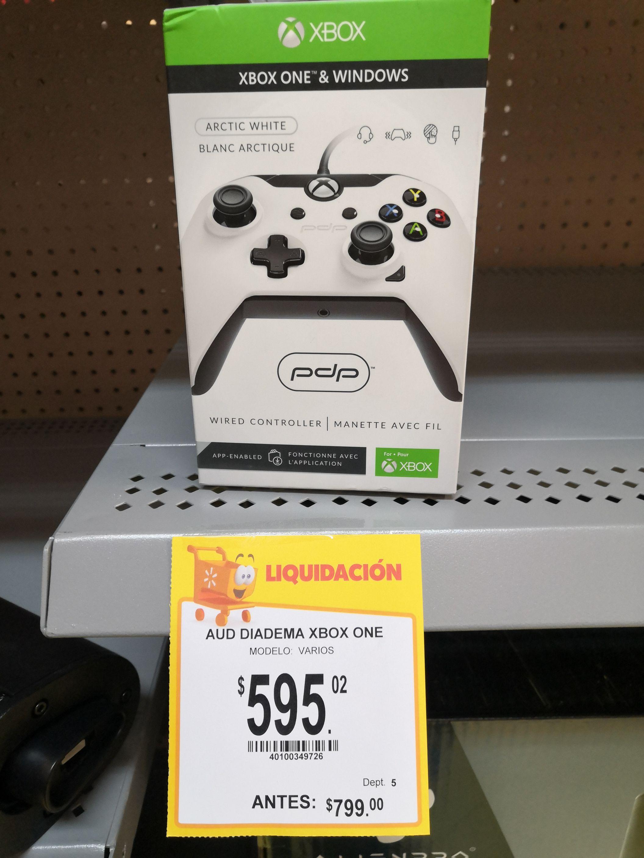 Walmart: Control Xbox one x alámbrico