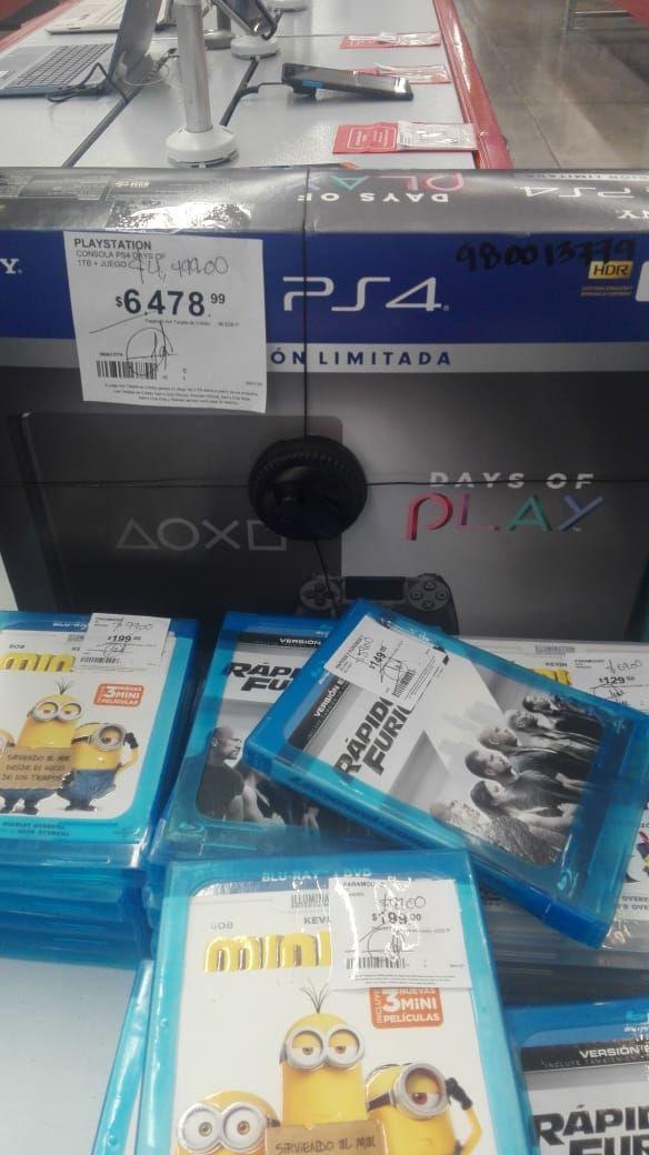 SAMS CLUB: Consola PlayStation 4 Slim de 1TB Days of Play - Special Limited Edition, go pro
