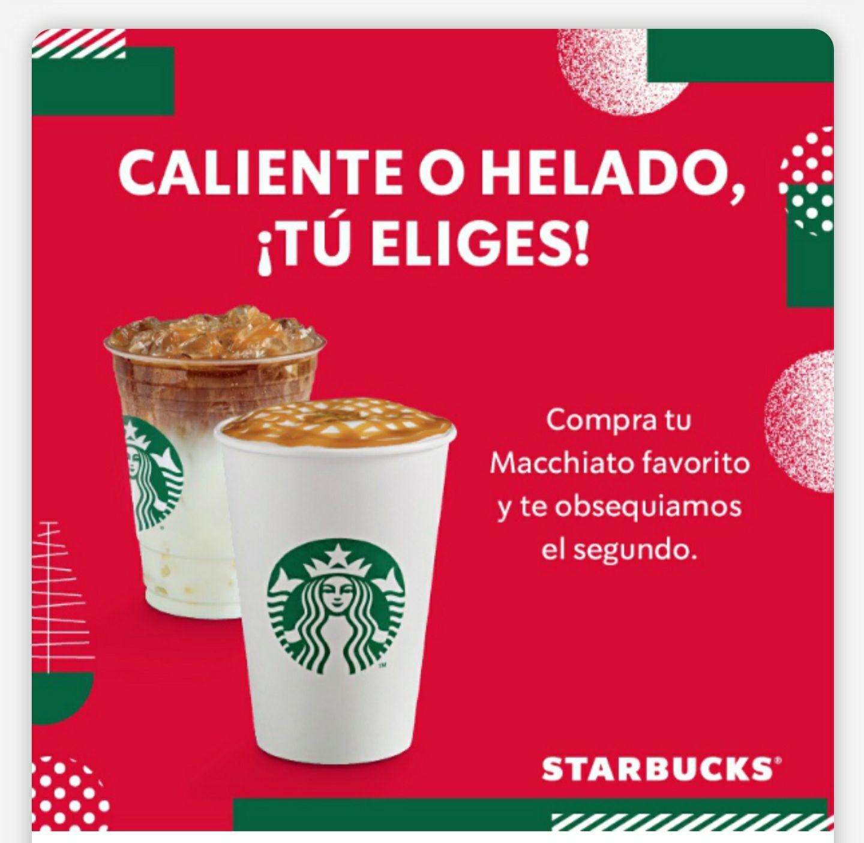 Starbucks - 2x1 Macchiato