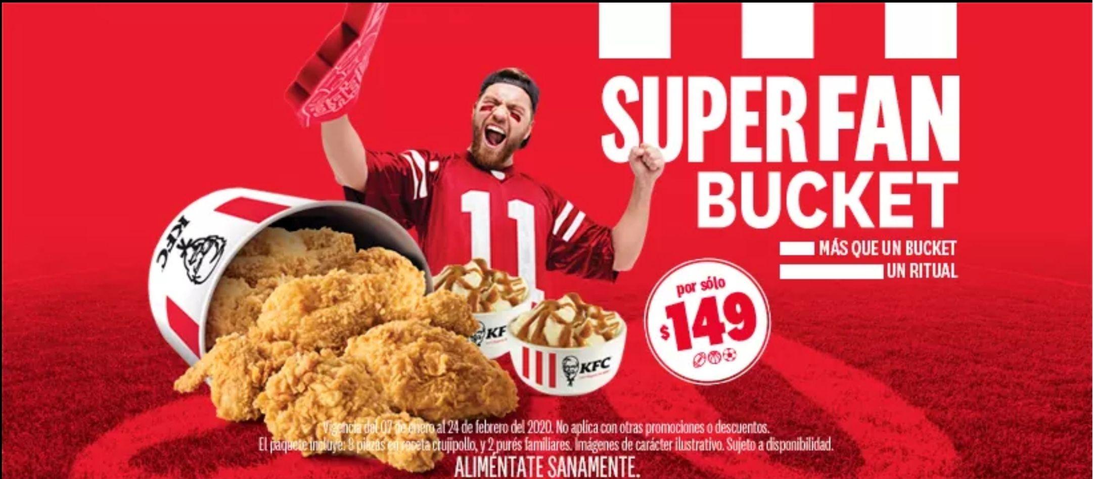 KFC : Super Fan Bucket a $149