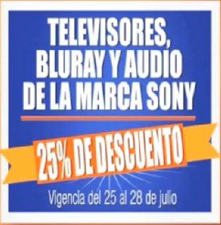 Chedraui: 25% de descuento en pantallas, blu-rays y estéreos Sony