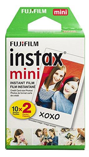 Amazon: Pelicula Instax Mini 2 paquetes de 10 pcs = 20