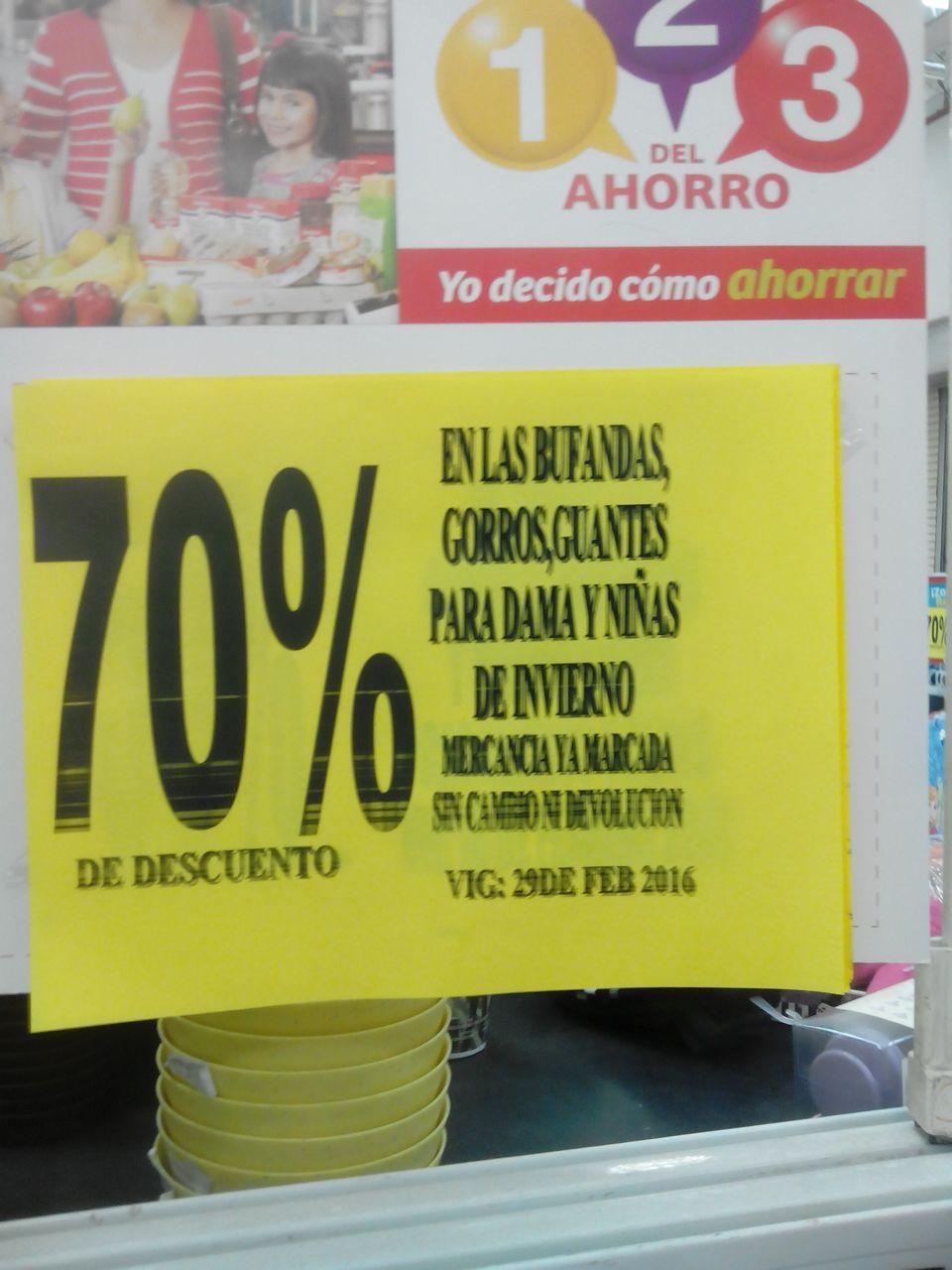 Soriana Tampico Aeropuerto: 70% de descuento en ropa de invierno