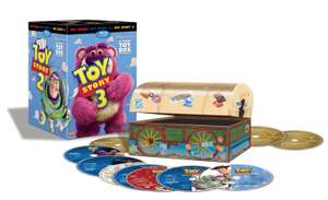 "Amazon: Trilogía TOY STORY Edición Coleccionista ""ULTIMATE TOY BOX"" en Blu-Ray!"