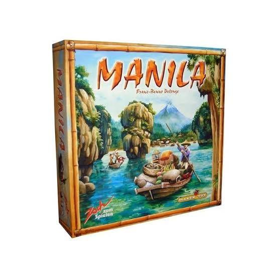 Amazon: Manila Juego de Mesa (Vendido por Amazon USA y aplica Prime)