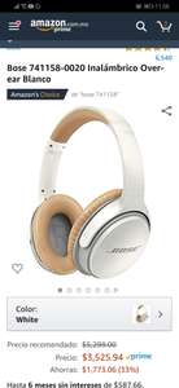 Amazon audífonos Bose Soundlink II