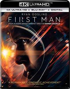 Amazon - First Man [4K] [Blu-ray]