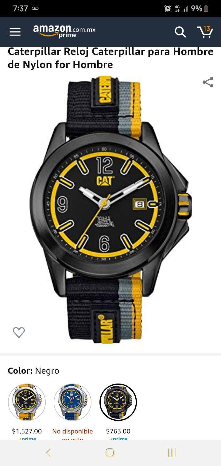 Amazon: otros relojes Caterpillar a buen precio