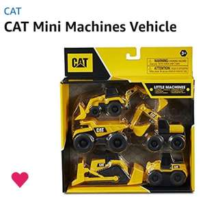 Amazon : Set de 5 vehículos CAT